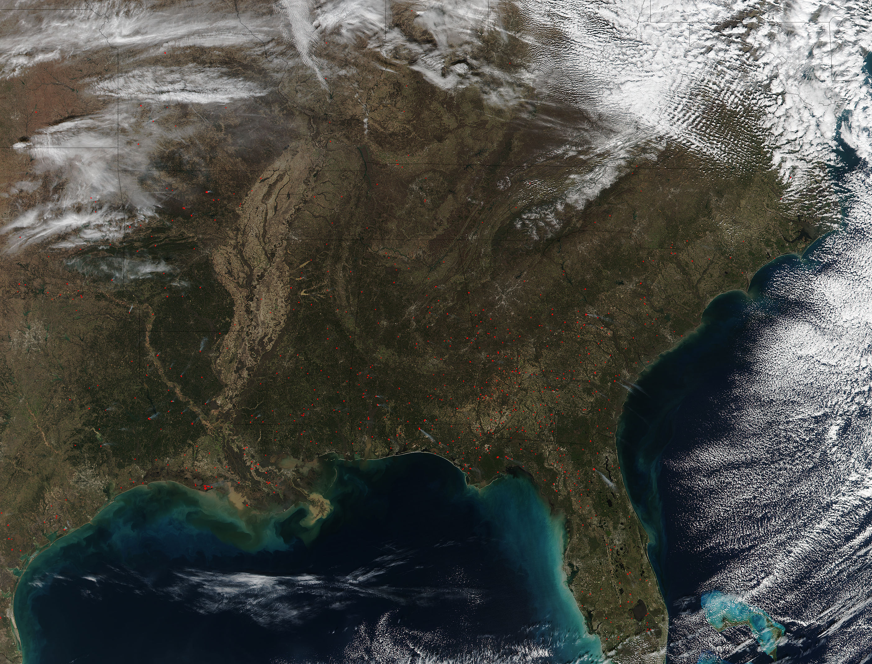Fires in the southeastern United States - related image preview