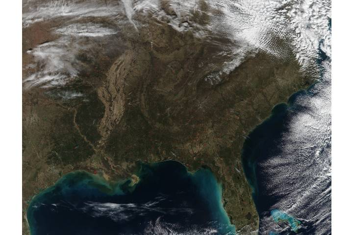 Fires in the southeastern United States - selected image
