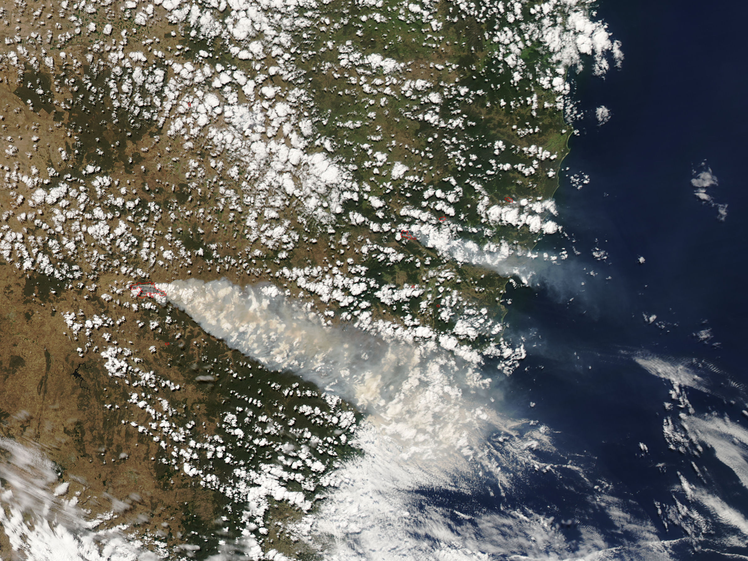 Fires in eastern New South Wales - related image preview
