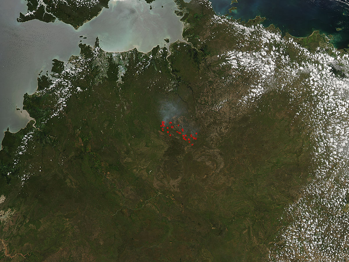 Fires in Northern Territory, Australia - related image preview