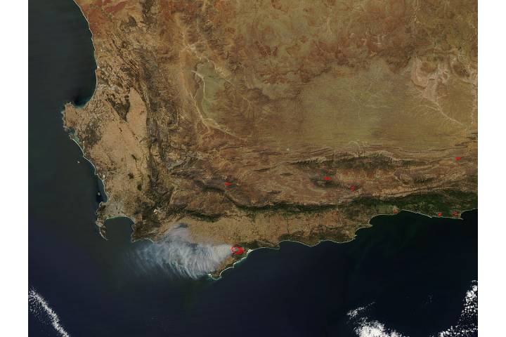 Fires in South Africa - selected image