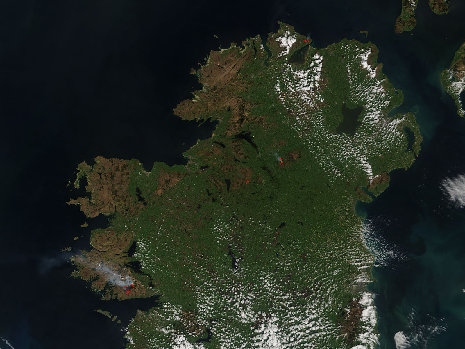 Fires in Ireland - related image preview