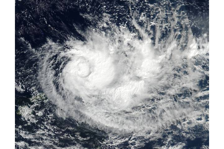 Tropical Cyclone Ella (19P) in the South Pacific - selected image