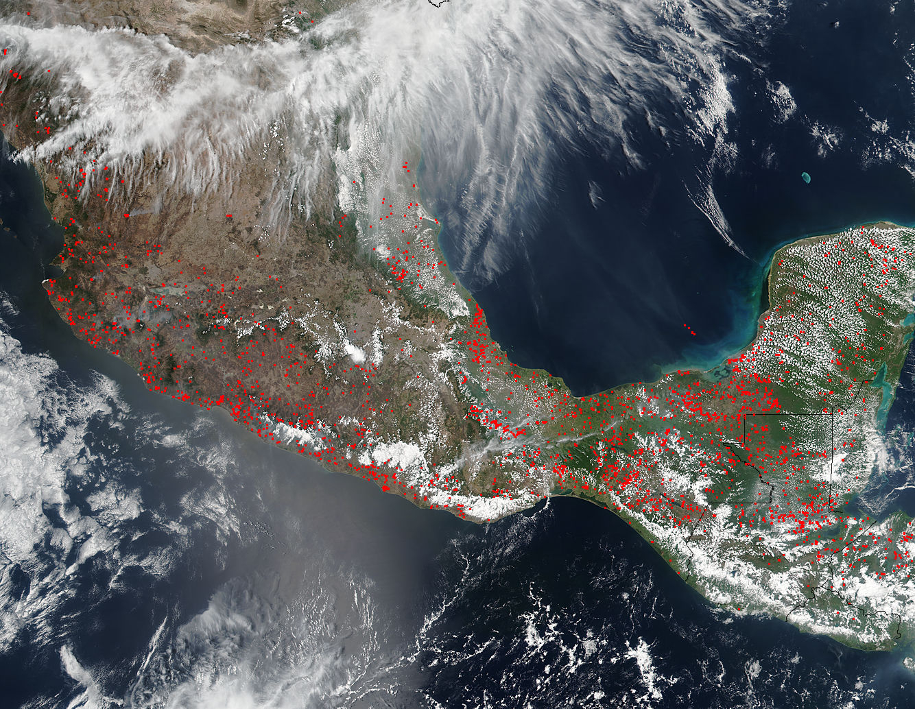 Fires in Central America - related image preview