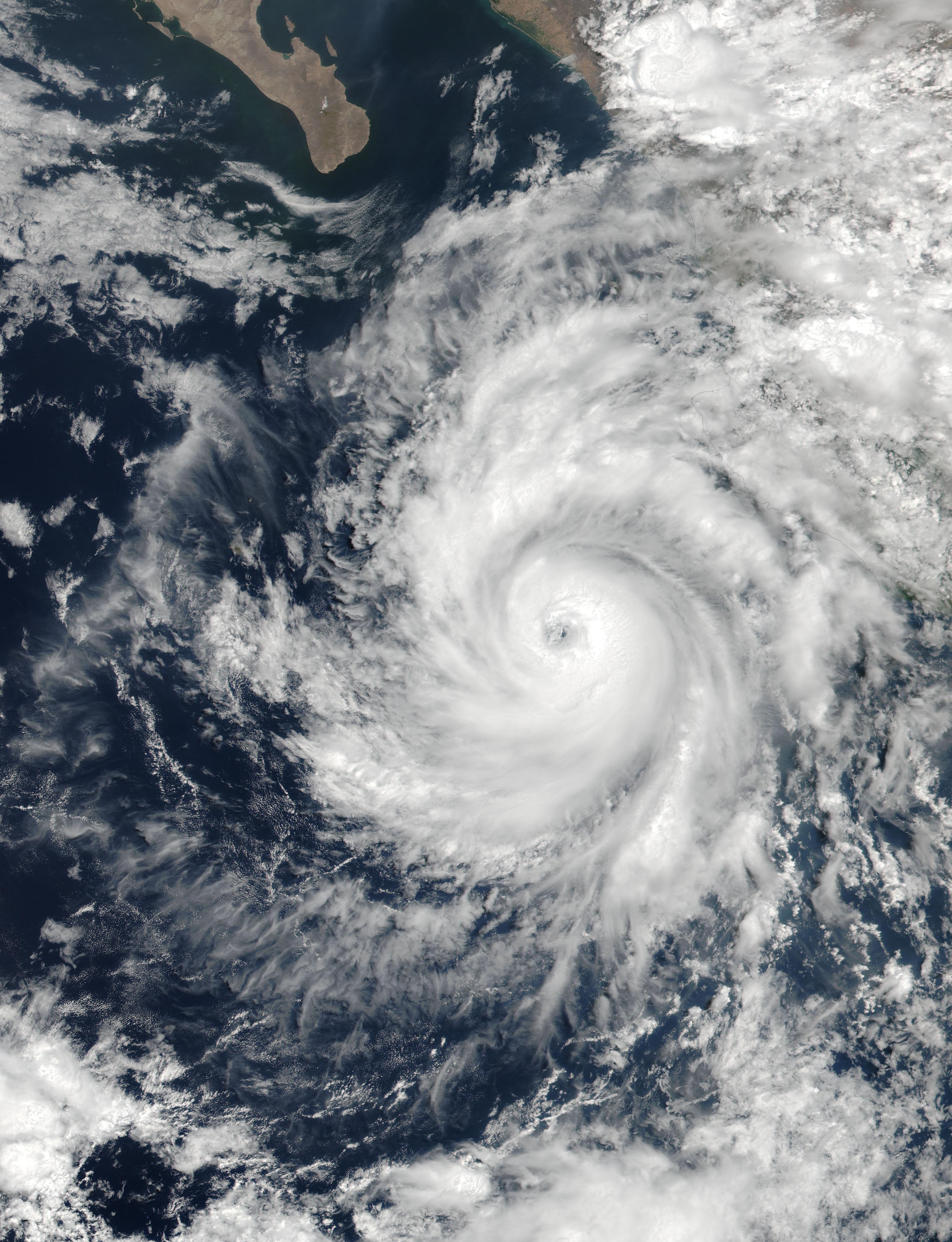 Hurricane Dora (04E) off Mexico - related image preview