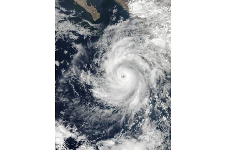 Hurricane Dora (04E) off Mexico - selected image