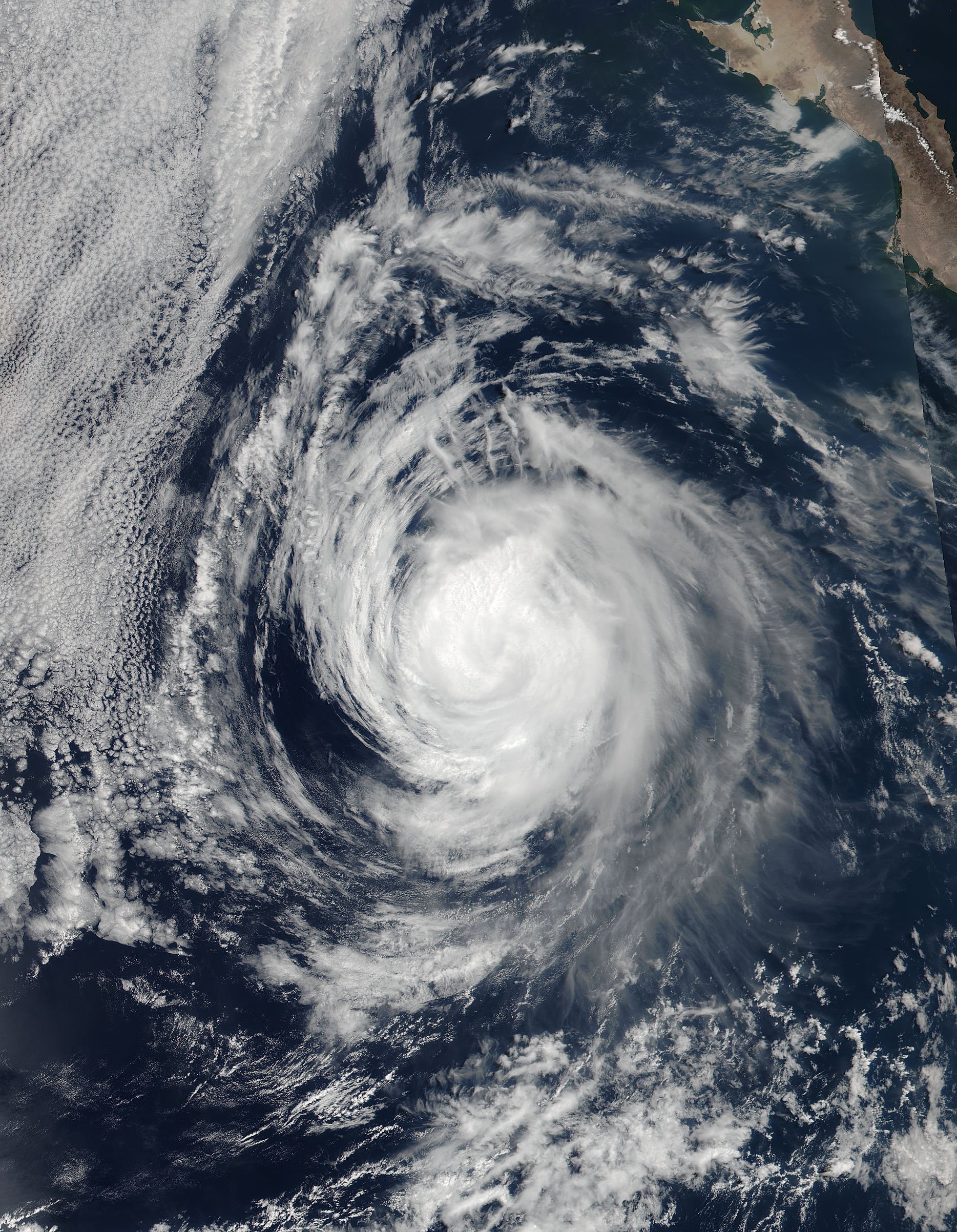 Hurricane Eugene (05E) off Mexico - related image preview