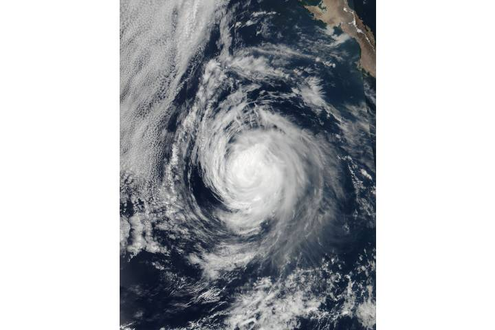 Hurricane Eugene (05E) off Mexico - selected image