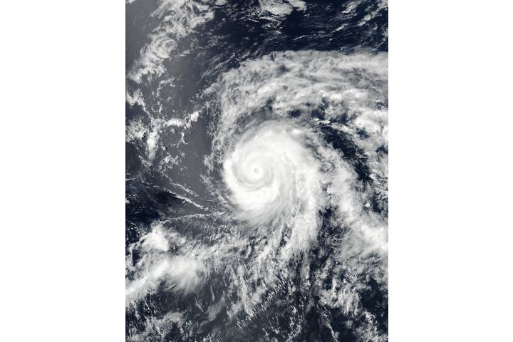Hurricane Fernanda (06E) in the eastern Pacific - selected image