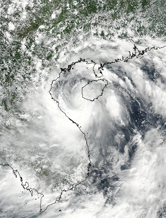 Tropical Storm Talas (06W) over Vietnam - related image preview