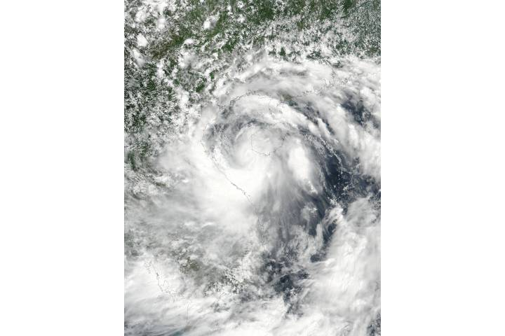 Tropical Storm Talas (06W) over Vietnam - selected image