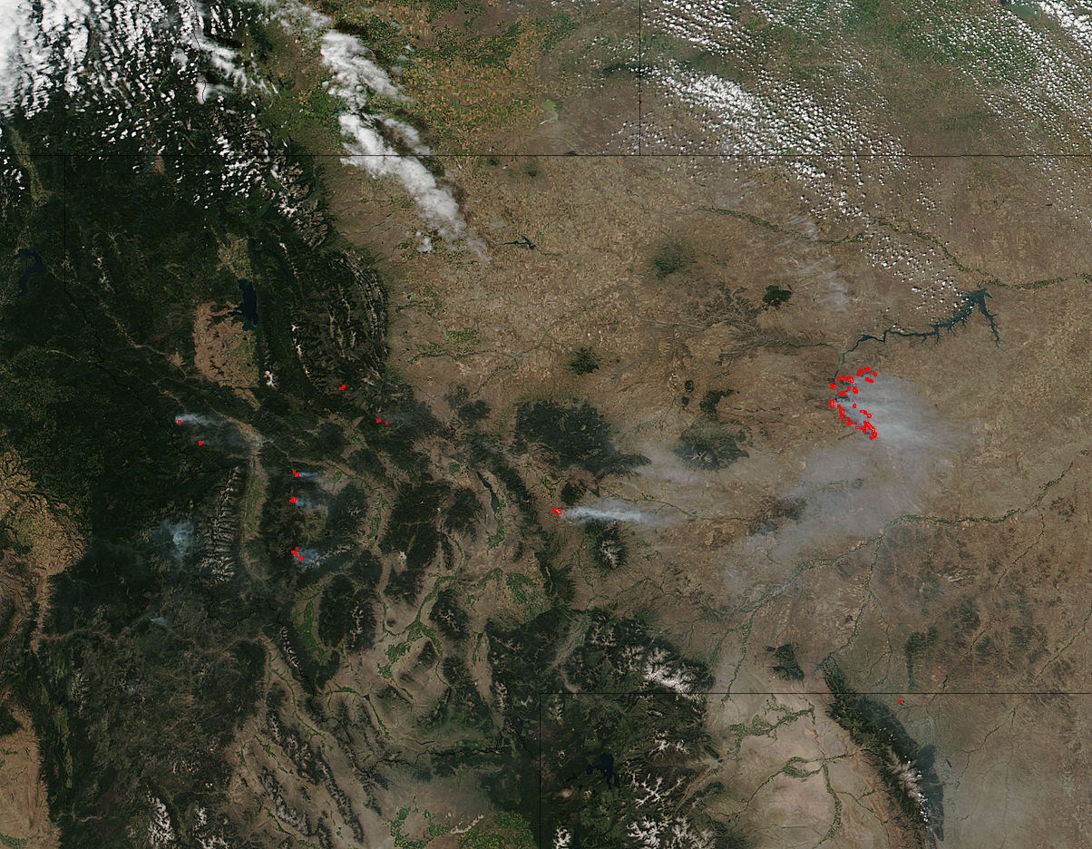 Fires in Montana - related image preview