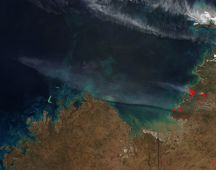 Fires and smoke in northern Australia - related image preview