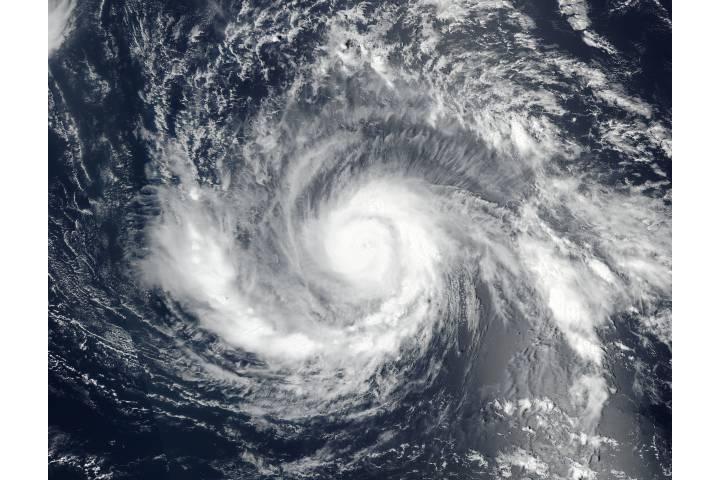 Hurricane Irma (11L) in the Atlantic Ocean - selected image