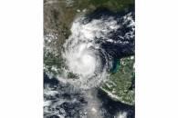 Hurricane Katia (13L) over Mexico
