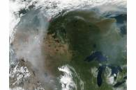 Fires and smoke in western United States and Canada