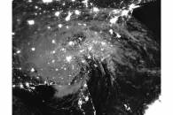 Tropical Depression Irma (11L) over southeastern United States (Day/Night Band)