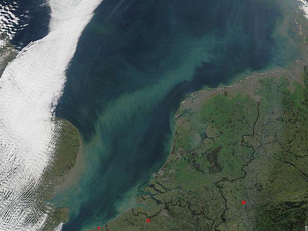 Sediment in the North Sea - related image preview
