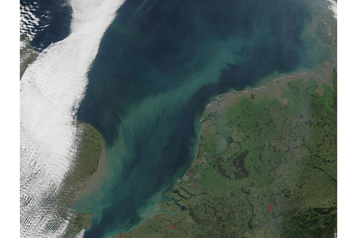 Sediment in the North Sea - selected image