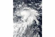 Tropical Storm Lan (25W) in the Pacific Ocean