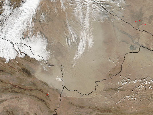 Dust storm in Turkmenistan - related image preview