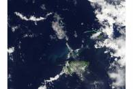 Eruption of Tinakula, Santa Cruz Islands, Solomon Islands