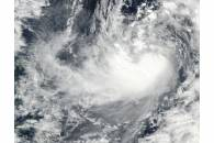 Tropical Storm Saola (27W) in the Philippine Sea