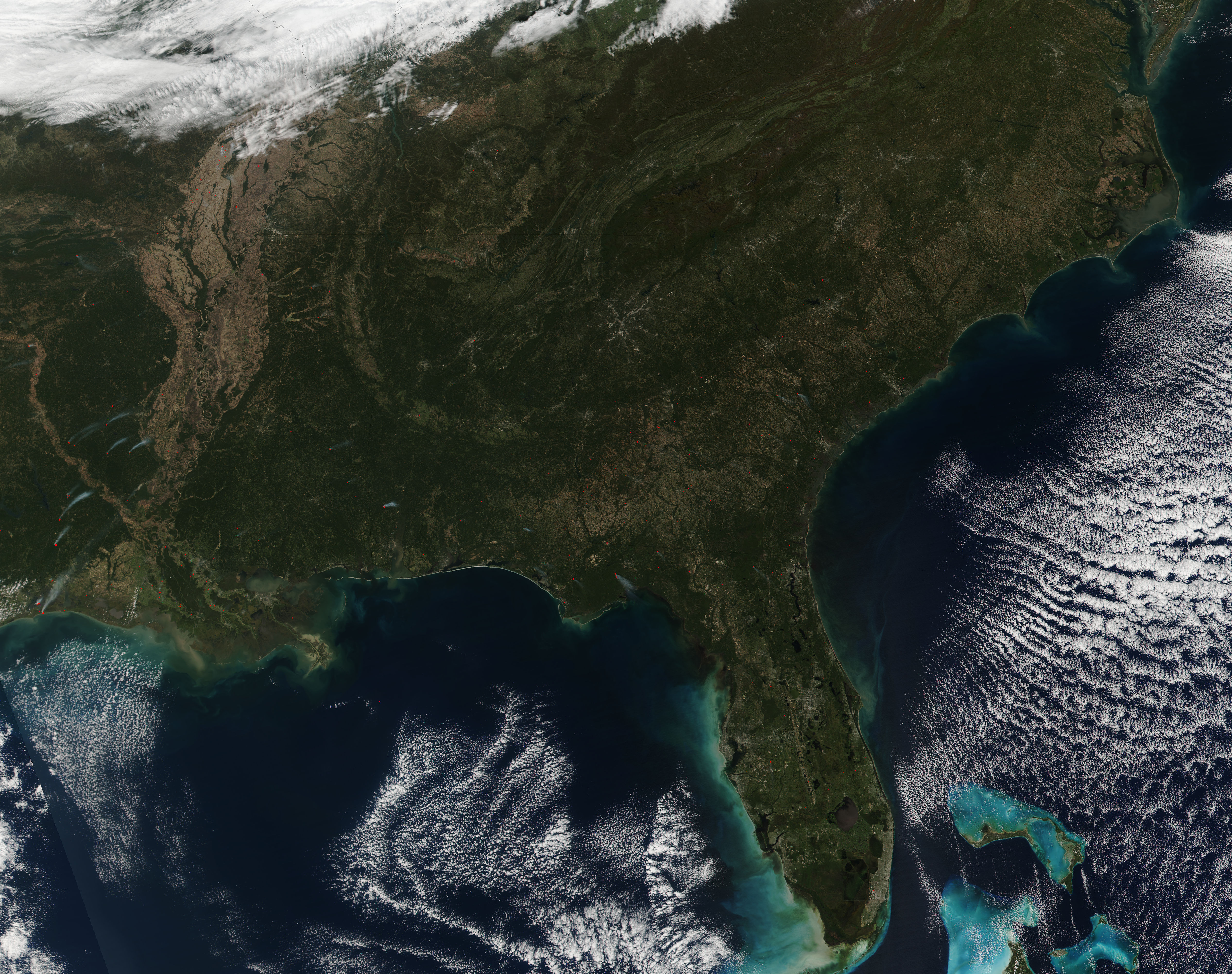Fires in southeastern United States - related image preview