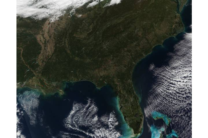 Fires in southeastern United States - selected image