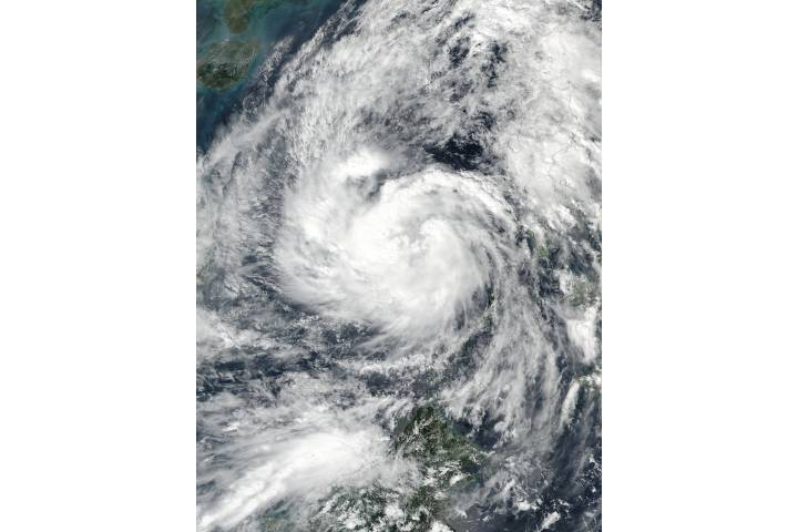 Tropical Storm Damrey (28W) in the South China Sea - selected image