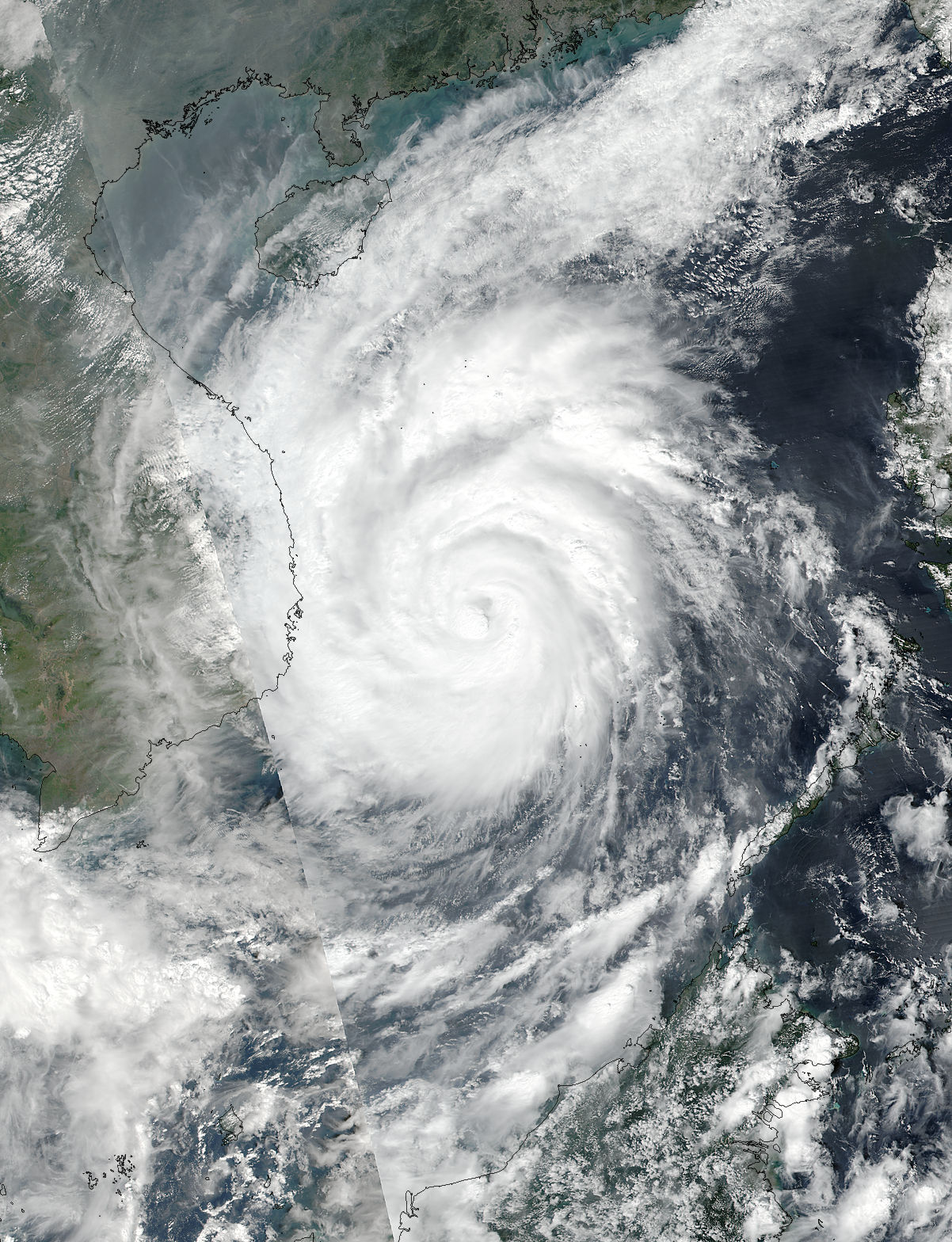 Typhoon Damrey (28W) over Vietnam - related image preview