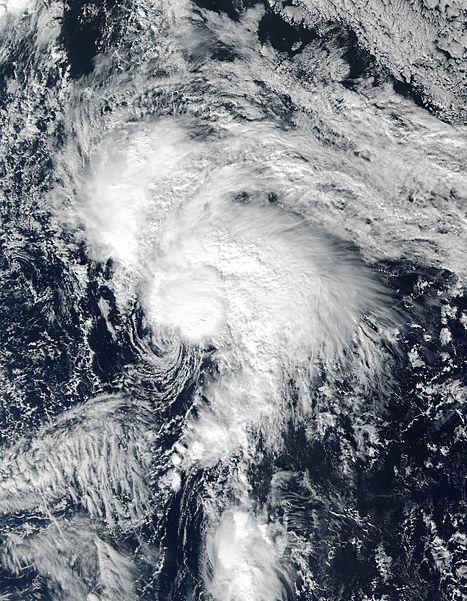 Tropical Storm Rina (19L) in the Atlantic Ocean - related image preview