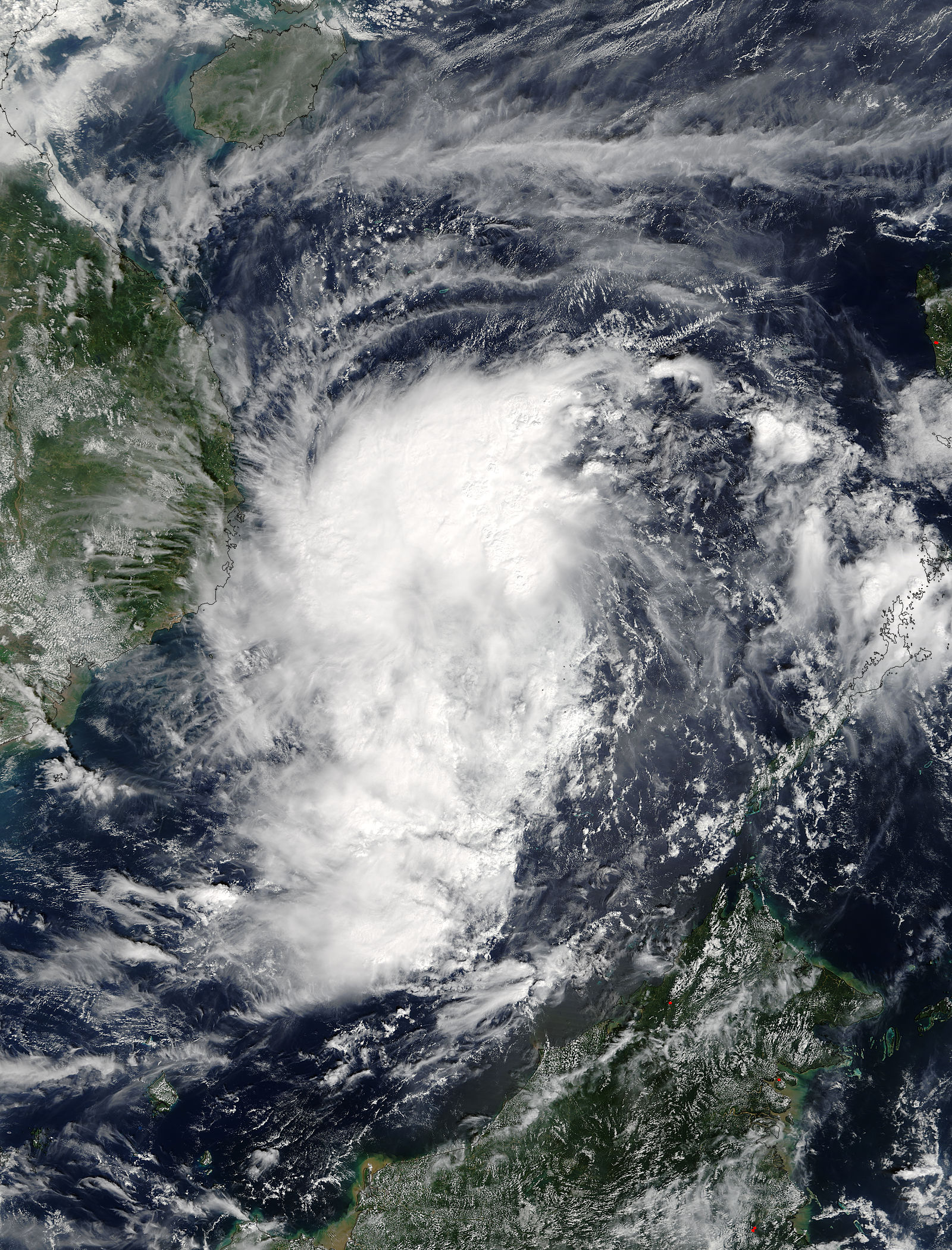 Tropical Storm Kirogi (31W) approaching Indochina - related image preview