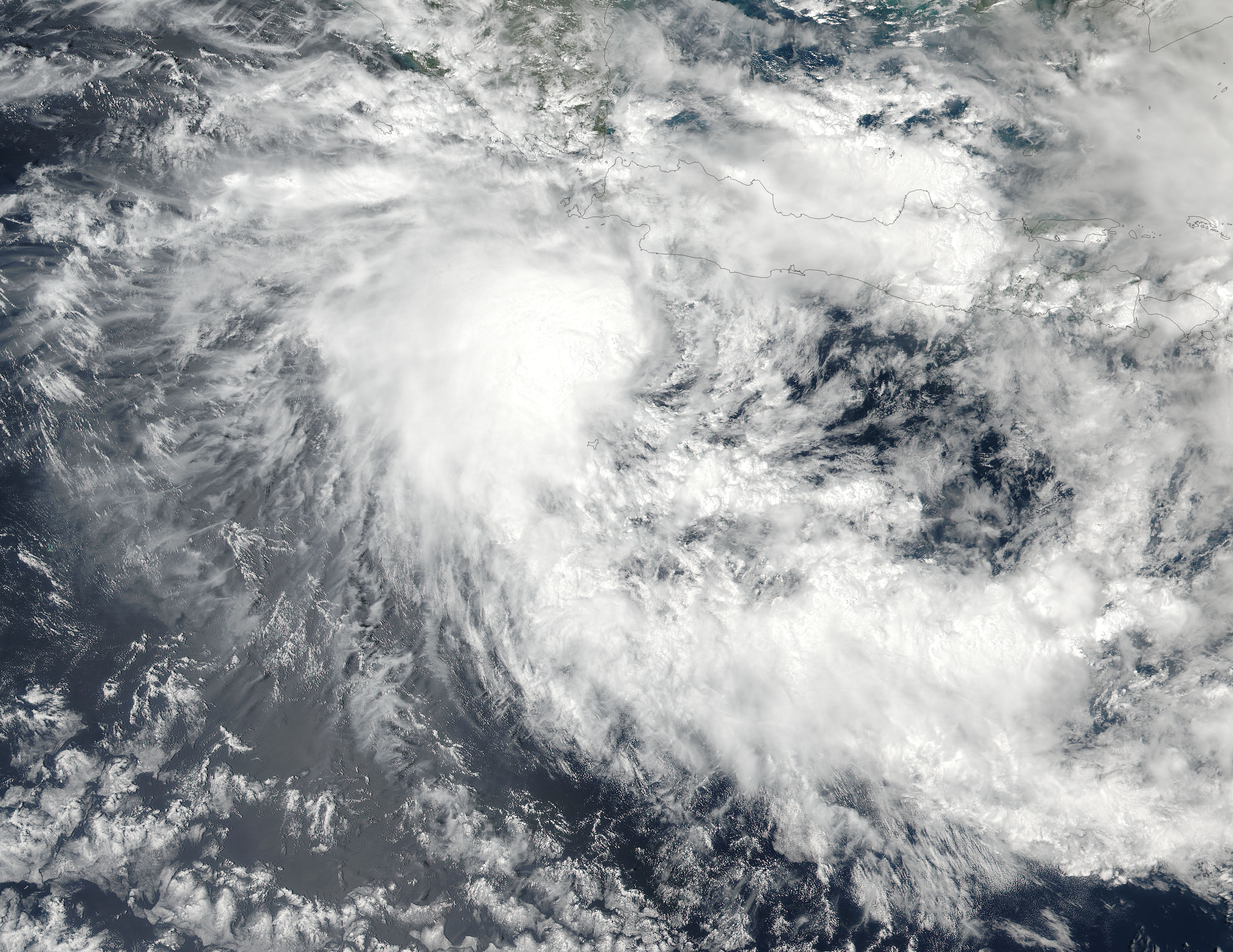 Tropical Cyclone Dahlia (01S) off Java - related image preview