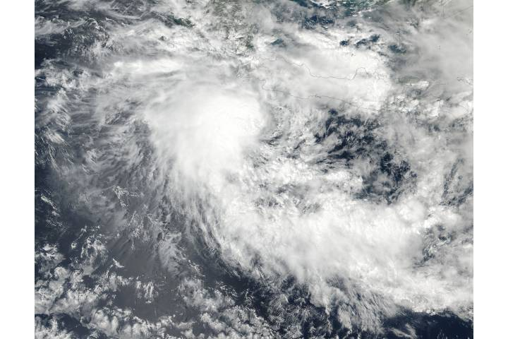Tropical Cyclone Dahlia (01S) off Java - selected image