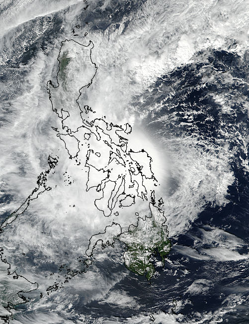 Tropical Storm Kai-tak (32W) over the Philippines - related image preview