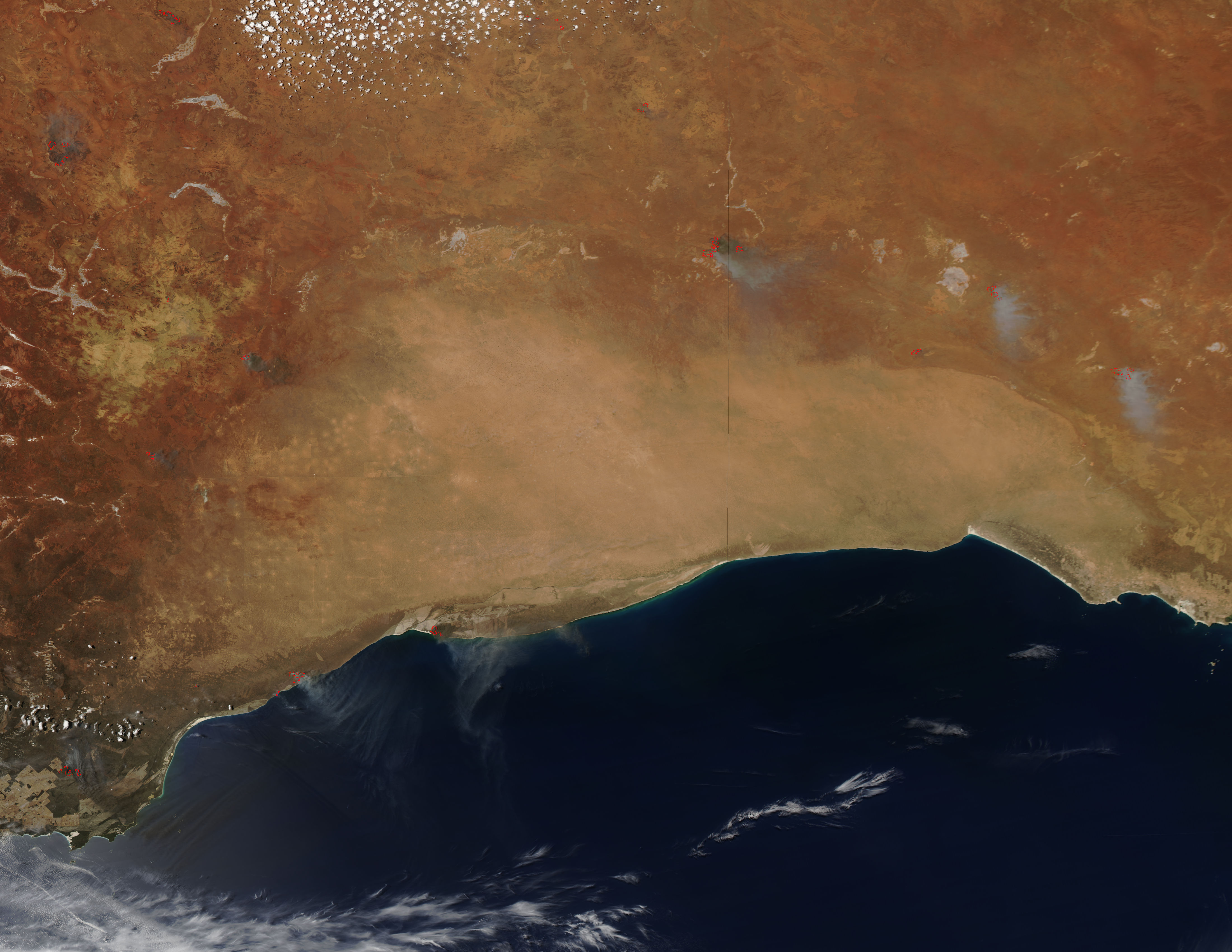 Fires in southwestern Australia - related image preview
