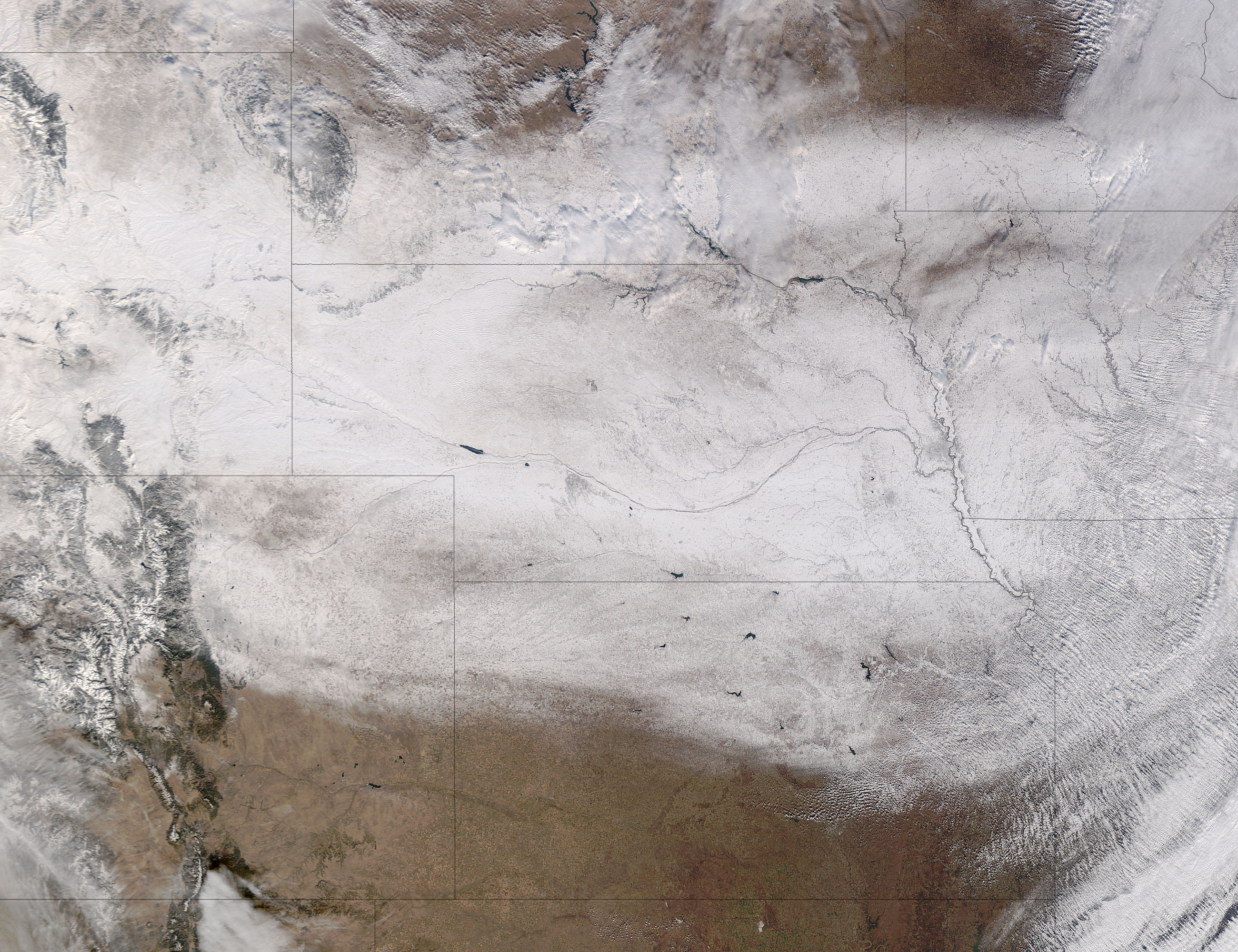 Snow across the central plains - related image preview