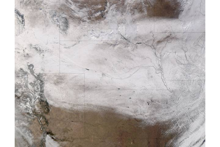 Snow across the central plains - selected image