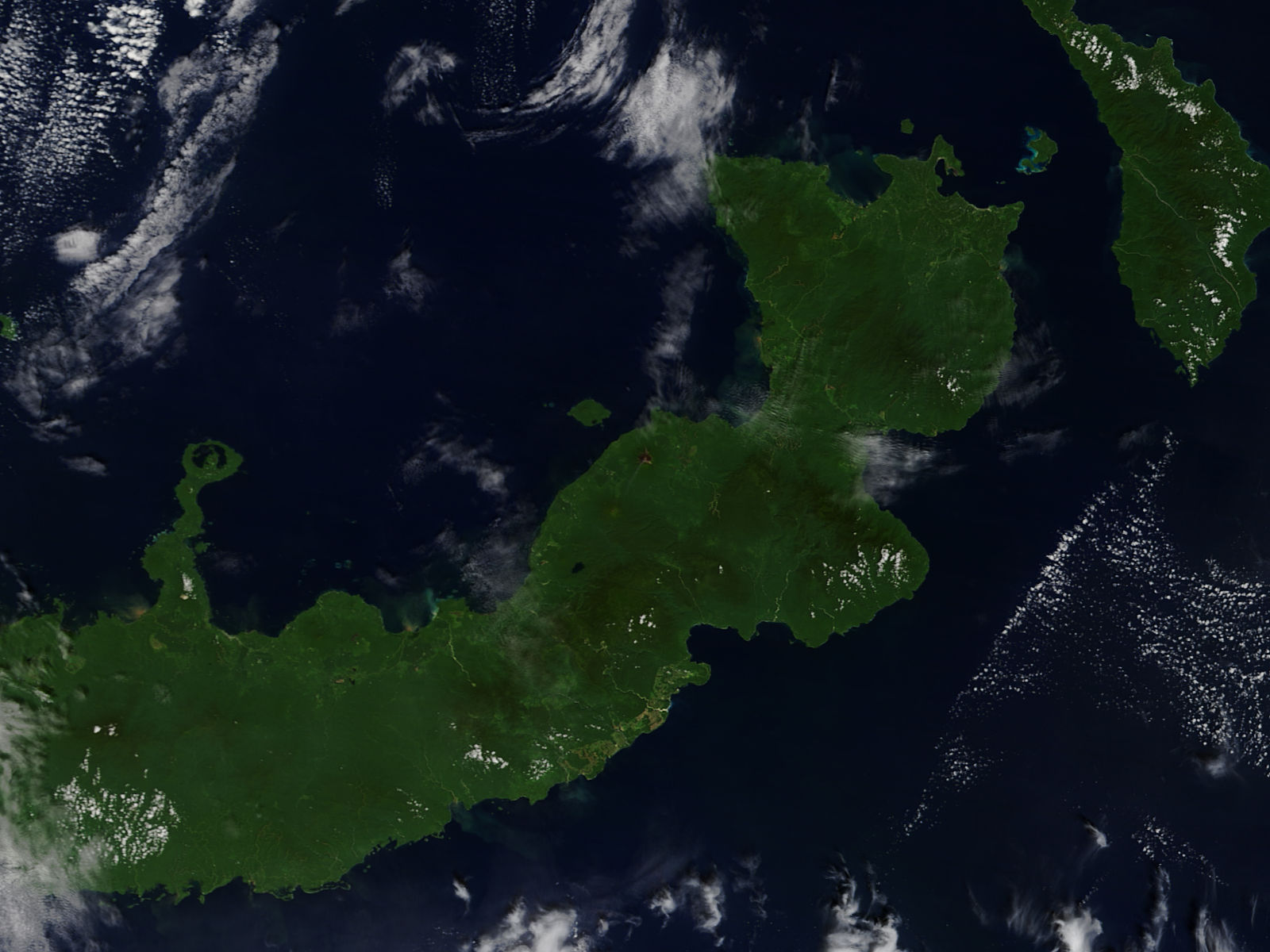 Plume from Ulawun, New Britain, Papua New Guinea - related image preview