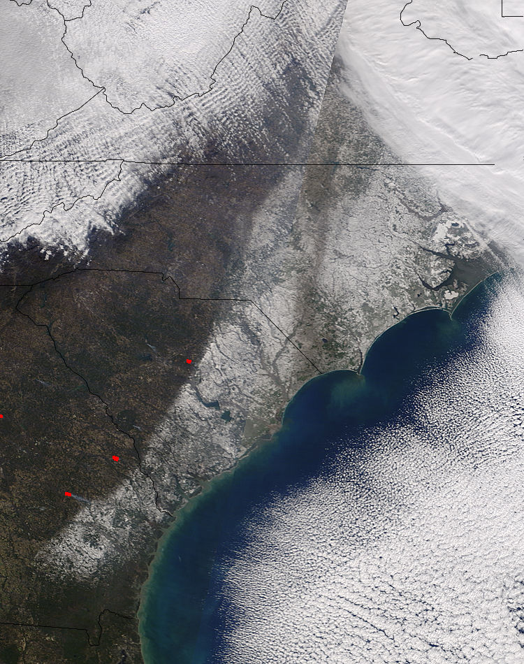 Snow across the southeastern United States - related image preview