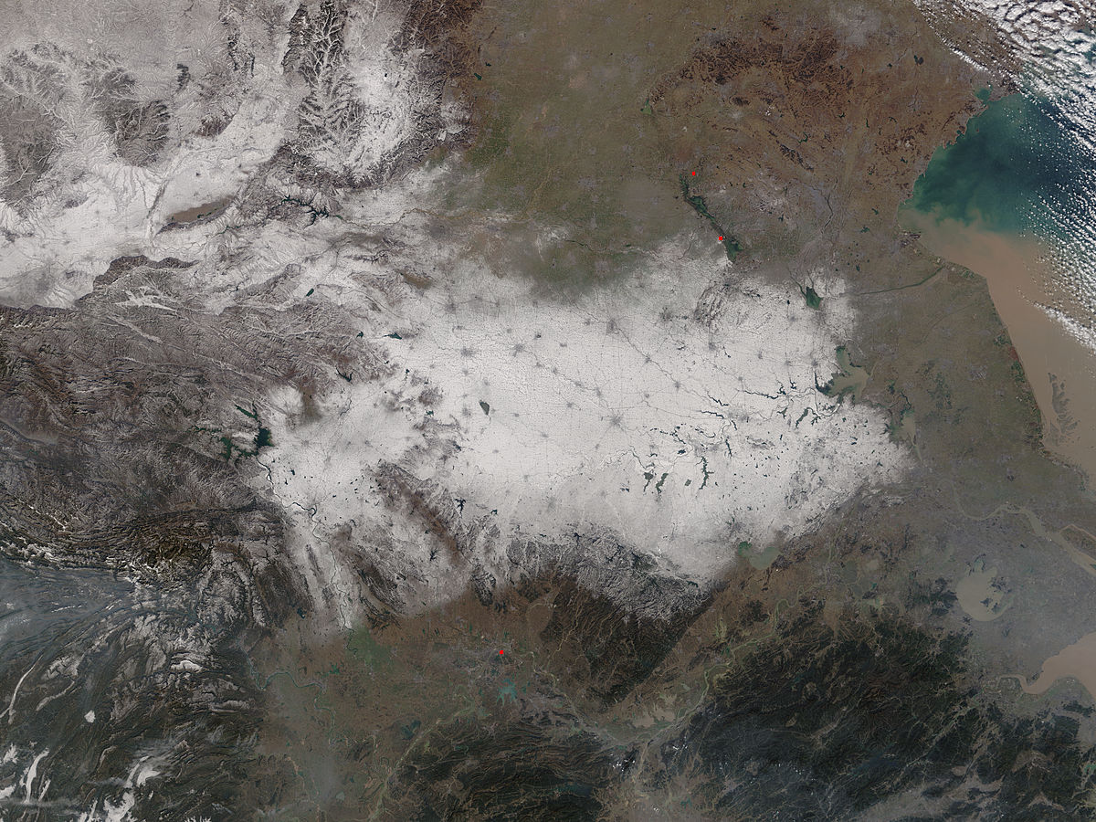 Snow in eastern China - related image preview
