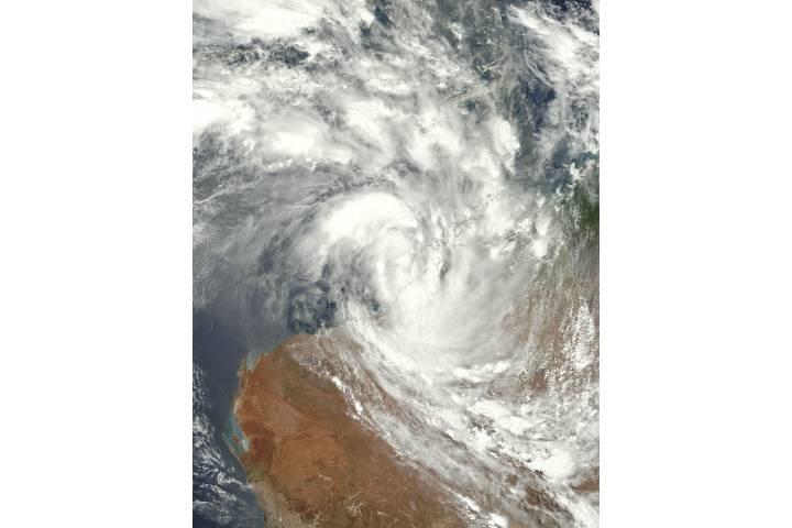 Tropical Cyclone Joyce (05S) over Western Australia - selected image