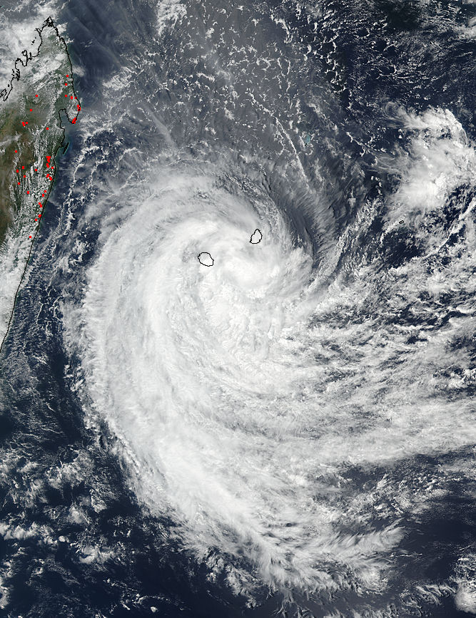 Tropical Cyclone Berguitta (06S) off Madagascar - related image preview