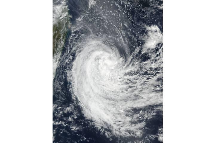 Tropical Cyclone Berguitta (06S) off Madagascar - selected image