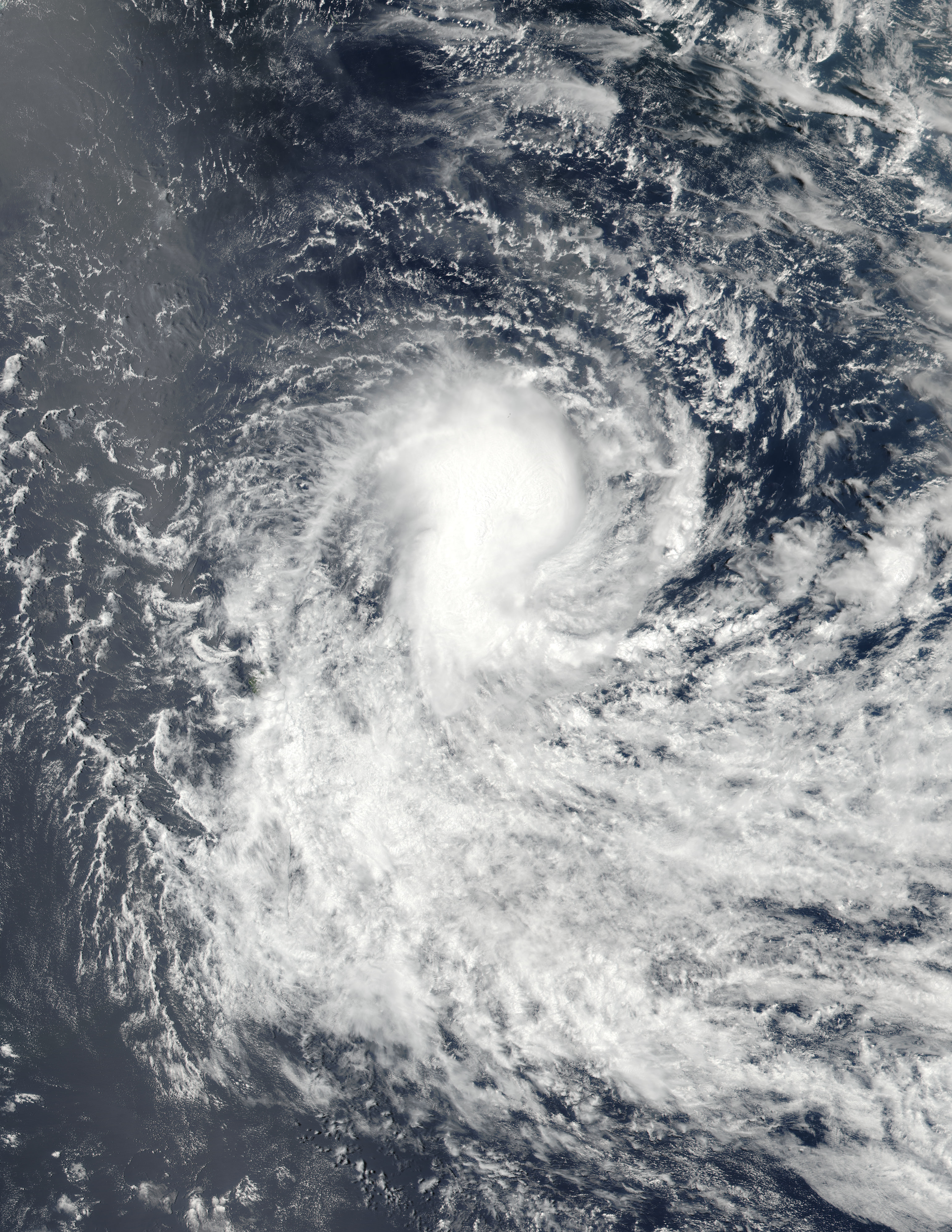 Tropical Cyclone Berguitta (06S) in the South Indian Ocean - related image preview