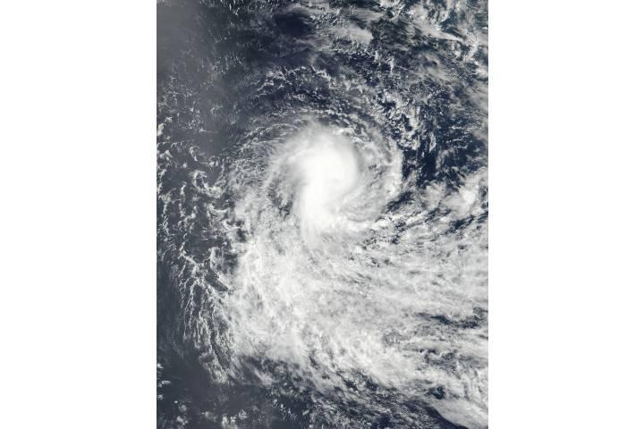 Tropical Cyclone Berguitta (06S) in the South Indian Ocean - selected image