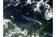Eruption of Kadovar, Papua New Guinea