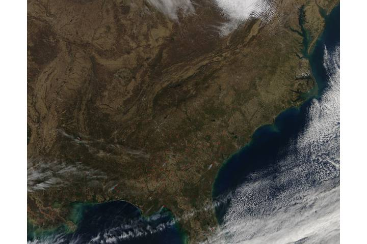 Fires in southeast United States - selected image