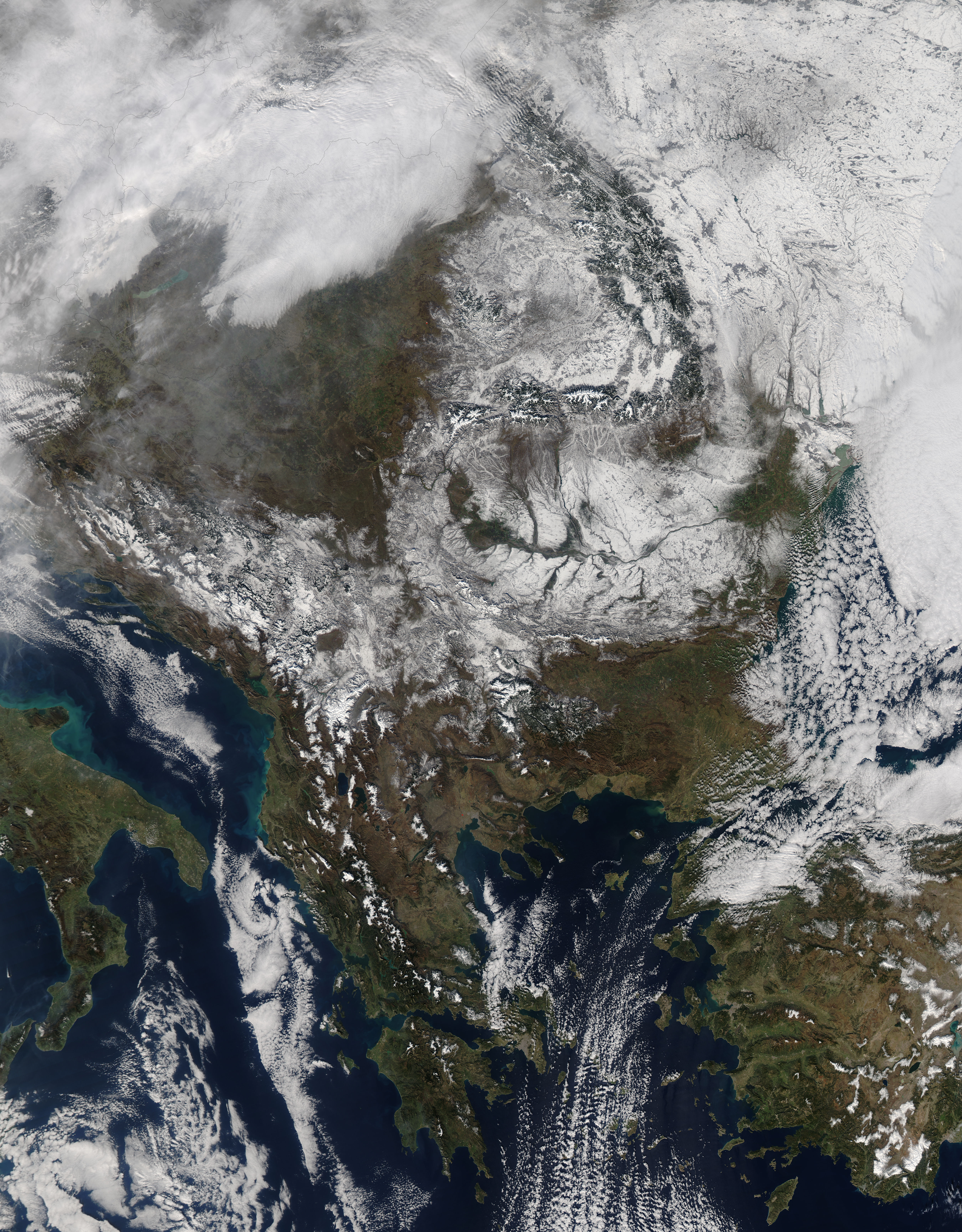 Snow across southeast Europe - related image preview